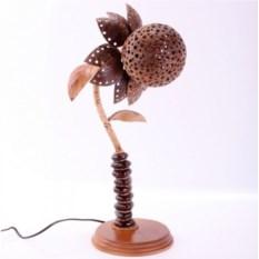 Светильник из кокоса Цветок