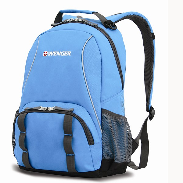 Рюкзак Wenger, голубой-серый