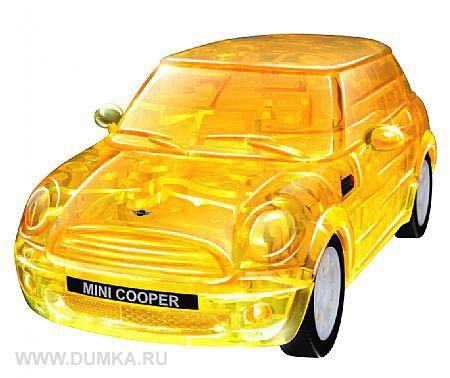 3D головоломка Мини Купер (собранный, желтый)