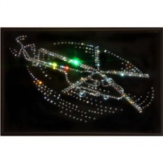 Картина с кристаллами Swarovski Ми-8