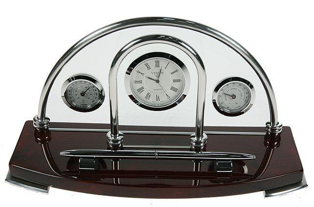 Часы настольные VIRON 26х14х10 см.