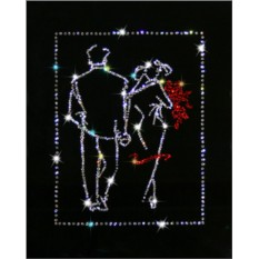 Картина с кристаллами Сваровски Свидание