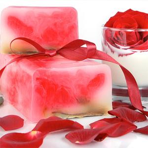 Мыло «Роза в молоке»