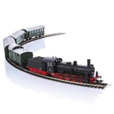 Стартовый набор «Паровоз с пассажирским составом» PIKO 57121