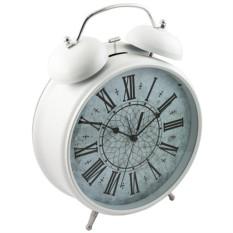 Часы - Будильник ГИГАНТ белый