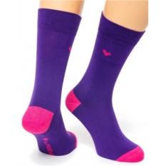 Фиолетовые носки Friday Heel