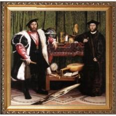 Оригинальный портрет мужчине-близнецам