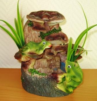 Фонтан Лягушки и сыроежки
