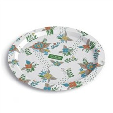 Дизайнерская тарелка Love & Life Gren