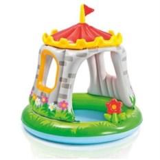 Детский бассейн Крепость Intex