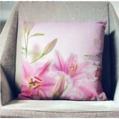 Декоративная наволочка Цветущие лилии