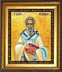 Евтихий Константинопольский Святитель. Икона на холсте.