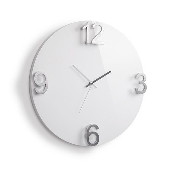 Настенные часы Elapse, белые