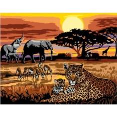Раскраска по номерам Ravensburger Африка