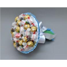 Букет из конфет Изморозь
