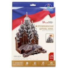 3D пазл «Преображенская церковь, Кижи» от CubicFun