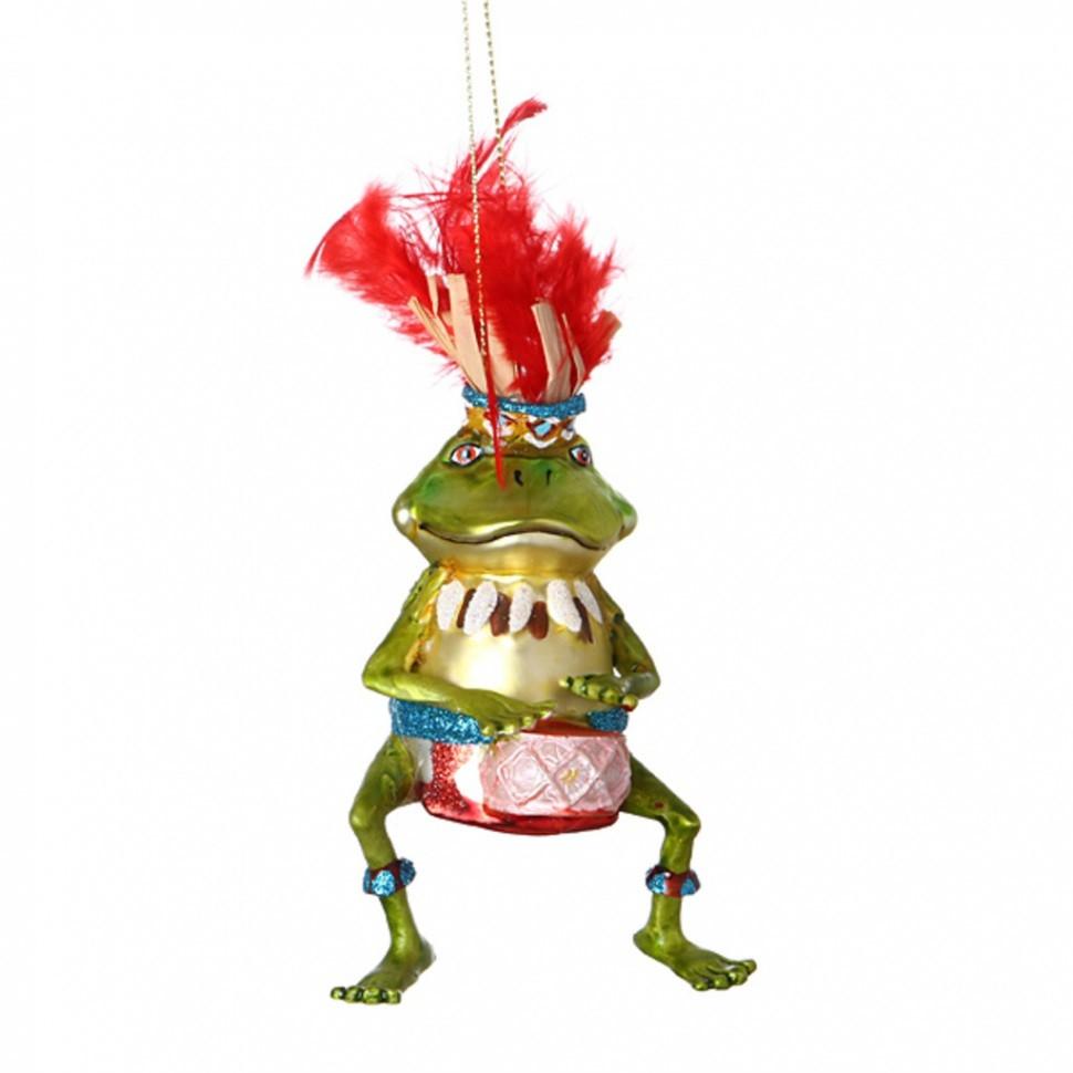 Ёлочное украшение Лягушка