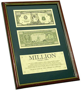 Коллаж «Миллион долларов»