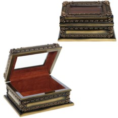 Шкатулка для драгоценностей, размер 22 х 16 х 10 см