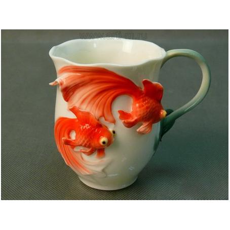 Кружка «Золотые рыбки»