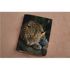 Горизонтальный кардхолдер Загадочный леопард