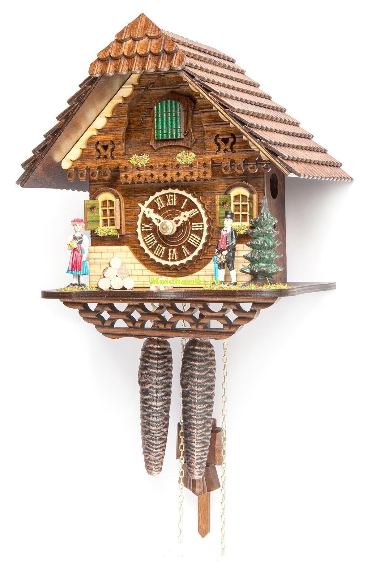 Механические настенные часы с кукушкой Tomas Stern 5022