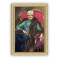 Печать портрета по фото на холсте VIP