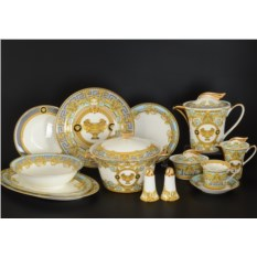 Столово-чайный сервиз Версаче на 6 персон 42 предмета
