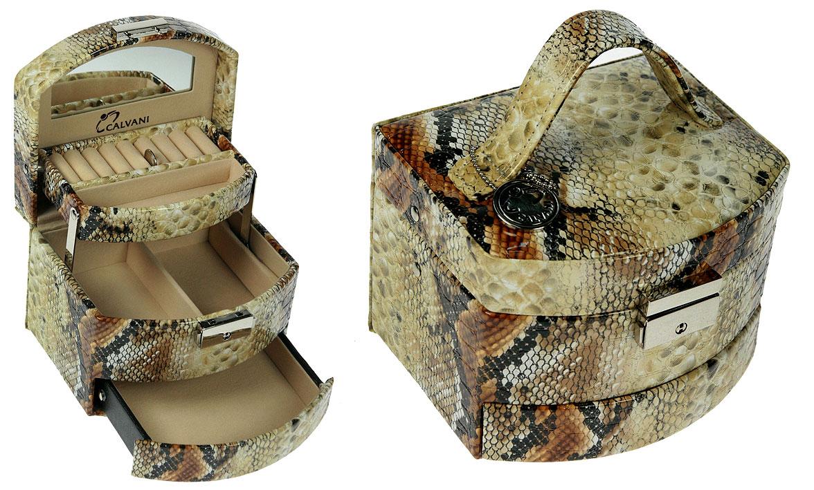 Шкатулка для ювелирных украшений CALVANI с зеркальцем