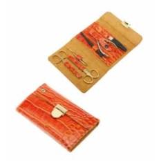 Оранжевый маникюрный набор GD из 6 предметов