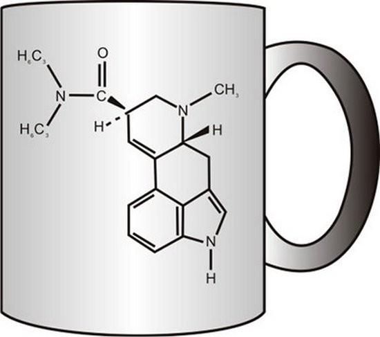 Прикольная кружка Химическая формула