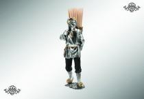 Серебряная подставка «Крестьянин»