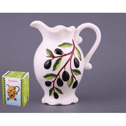 Кувшин керамический «Оливки»