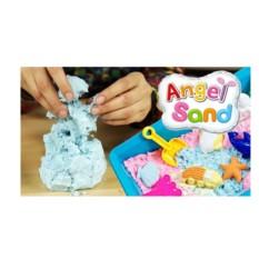 Песок для творчества Angel Sand (цвет — розовый)
