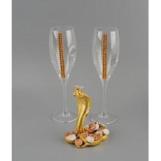 Набор бокалов для шампанского «За успех»