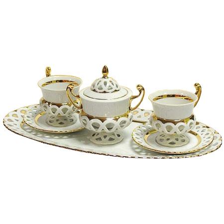 Чайный сервиз «Чешские кружева»