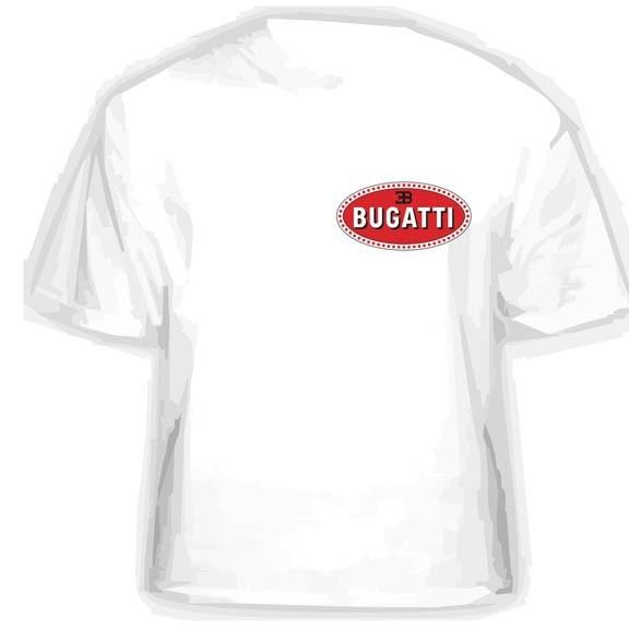 Прикольная футболка BUGATI