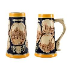 Пивная коллекционная кружка Прага