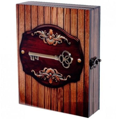 Лакированная настенная ключница Тайная комната