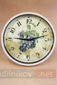 Настенные часы Виноград