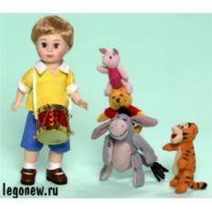 Набор кукол Кристофер Робин и его друзья