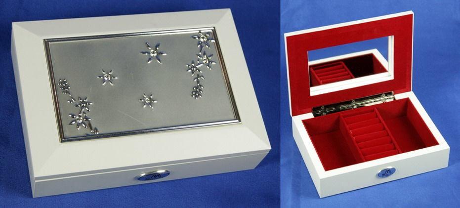 Шкатулка для украшений Silver