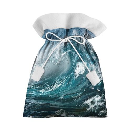 Новогодний 3D мешок Волна