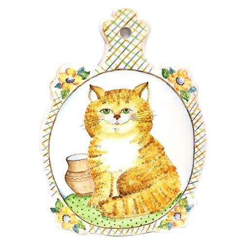 Сырная доска классическая Рыжий кот