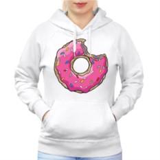 Женская толстовка-реглан Пончик Гомера