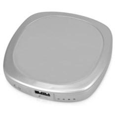 Портативное зарядное устройство Рефлект (серебристый цвет)