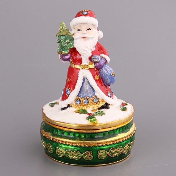Шкатулка Дед Мороз, 7 см