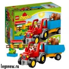 Конструктор Лего Дупло Сельскохозяйственный трактор