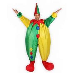 Карнавальный надувной костюм Клоун