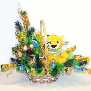Букет «Новогодние каникулы»